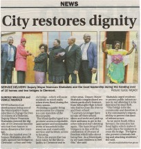 Service Delivery - Durban