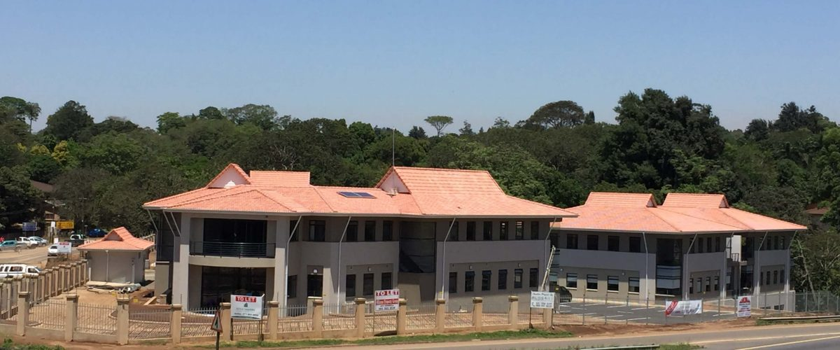 The Brook Office Park Completed Roof