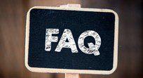 Frequently Asked Questions Chalk Sign Board
