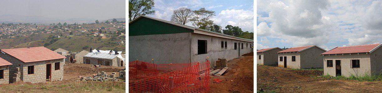Dezzo Roofing Steel Truss Installation